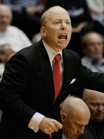 Cincinnati Bearcats head coach Mick Cronin against