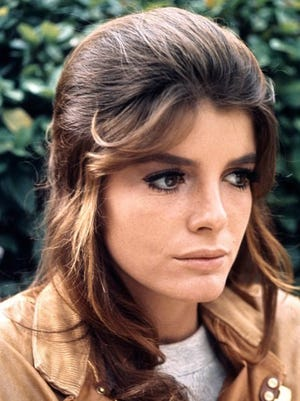 """In 1967's """"The Graduate,"""" Katharine Ross plays Elaine, the uncertain daughter of Mrs. Robinson."""