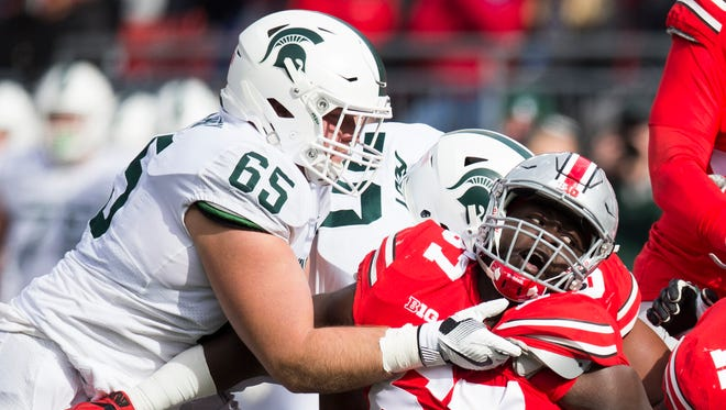 Michigan State center Brian Allen was named second team All-Big Ten by the Associated Press.