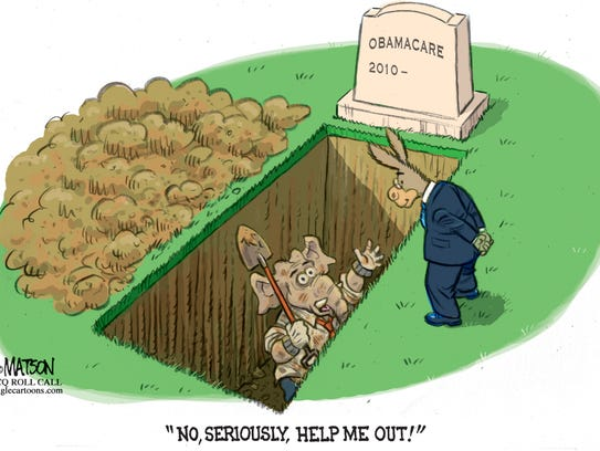 Obamacare commentary from RJ Matson, Roll Call