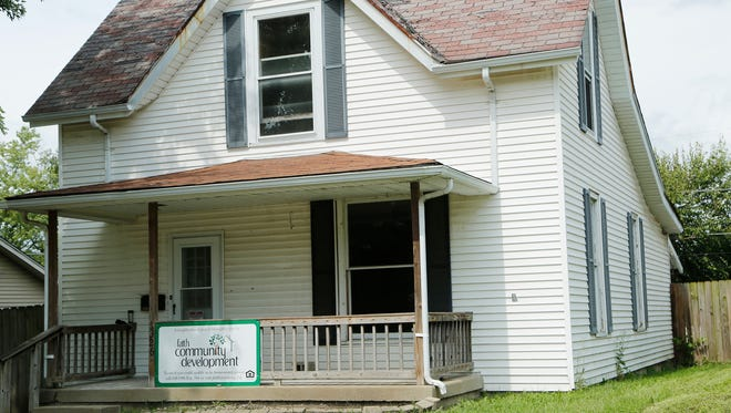 Fatih Community Development home at 1326 Burroughs Street Tuesday, August 30, 2016, in Lafayette.