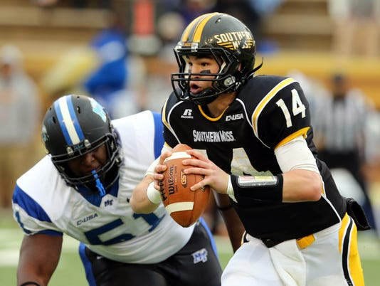 NCAA Football: Middle Tennessee at Southern Mississippi
