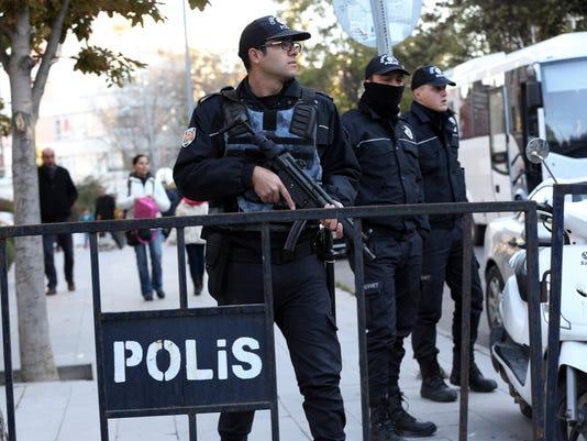 AP TURKEY KURDS I TUR