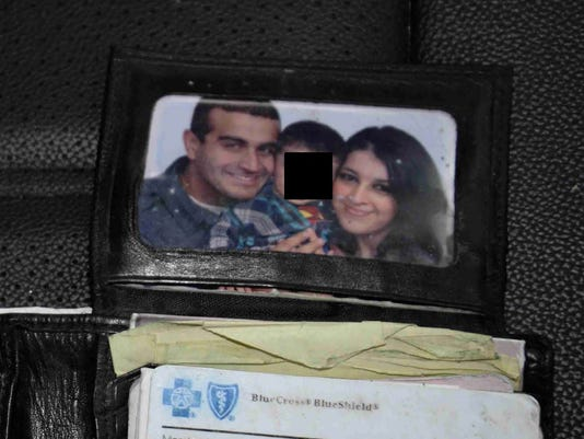 Omar Mateen and Noor Salman