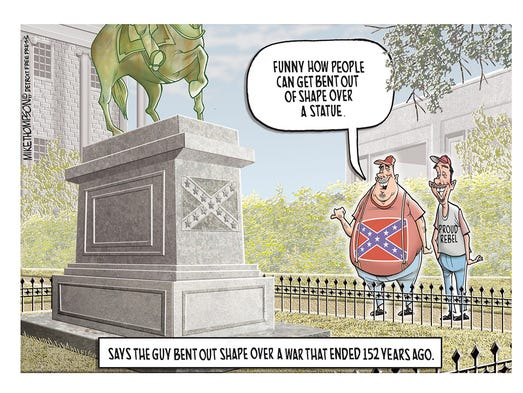 Mike Thompson on the push against removing Confederate