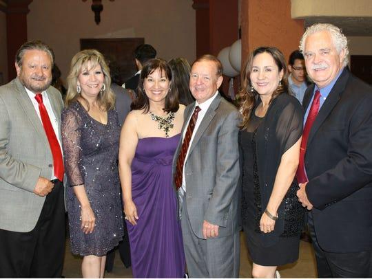 Ralph Salas, from left, Cristina Salas, Maggie Morales-Moody,