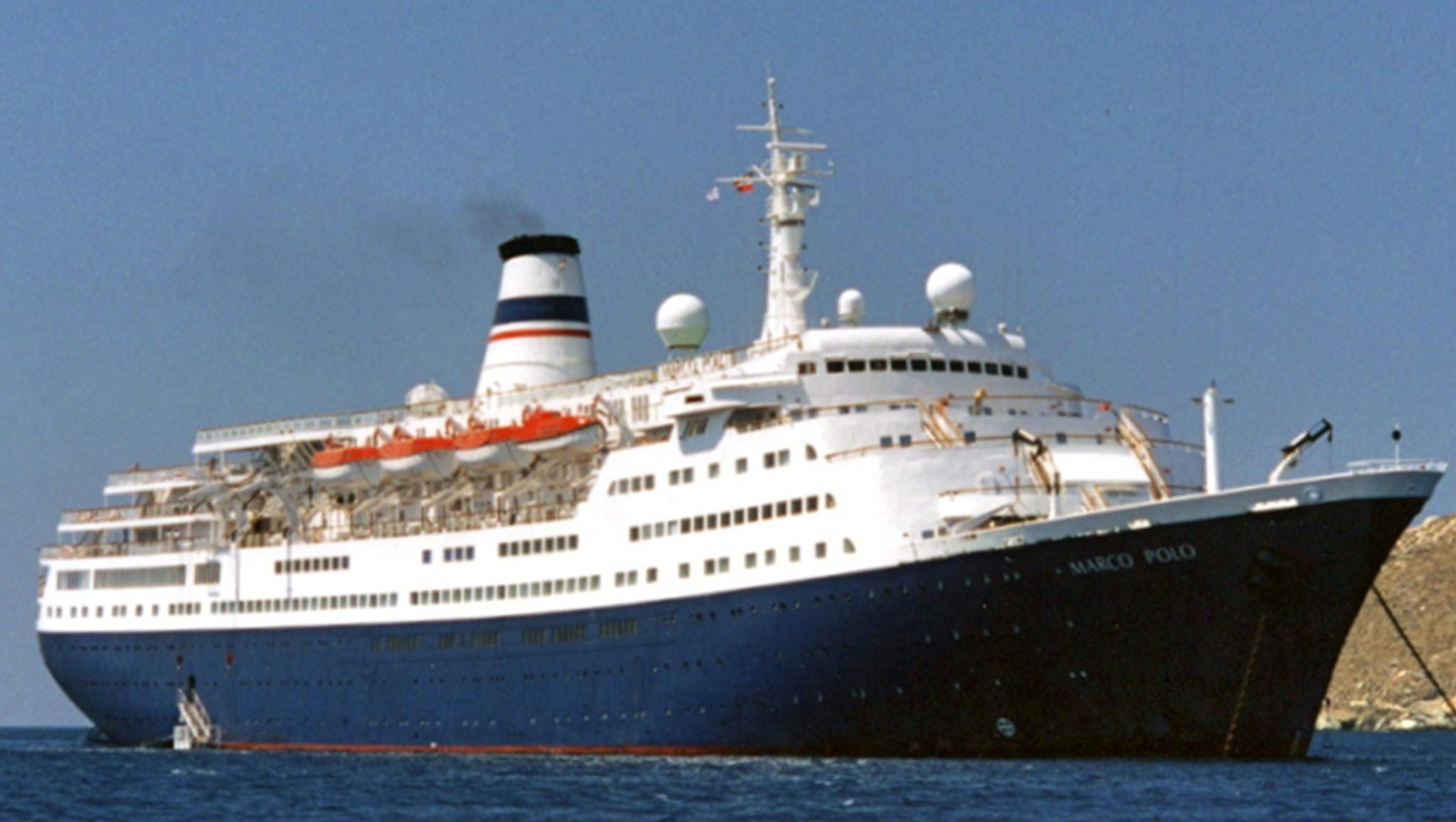 In 1990, the Alexandr Pushkin was laid up at Singapore and in 1991, it was purchased by adventure-travel entrepreneur Gerry Herrod for his newly-formed Orient Lines and completely rebuilt in Greece, emerging in 1993 as the Marco Polo.