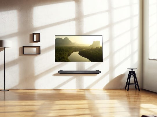 LG's super thin OLED TVs have won numerous awards for