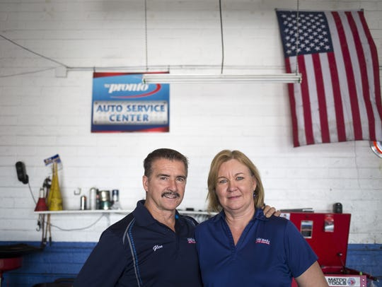 Glen and RaeAnn Hayward are active in the community