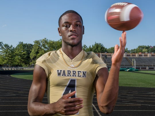 David Bell, wide receiver, Warren Central High School,