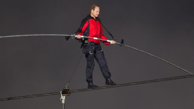 Nik Wallenda's Wisconsin State Fair walk attempt will be for 1,560 feet on a wire 10 stories above the fairgrounds.