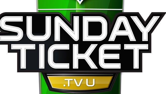 Logo for DirecTV's NFL Sunday Ticket package for university students.