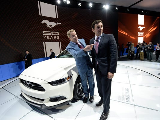 Ford's 50th anniversary Mustang looks like original