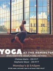 Yoga at the Remington