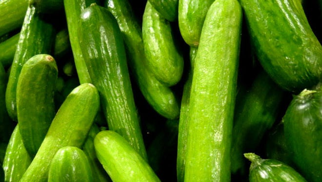 Cucmbers will add extra crunch, whether in a sandwich or in a favorite salad.