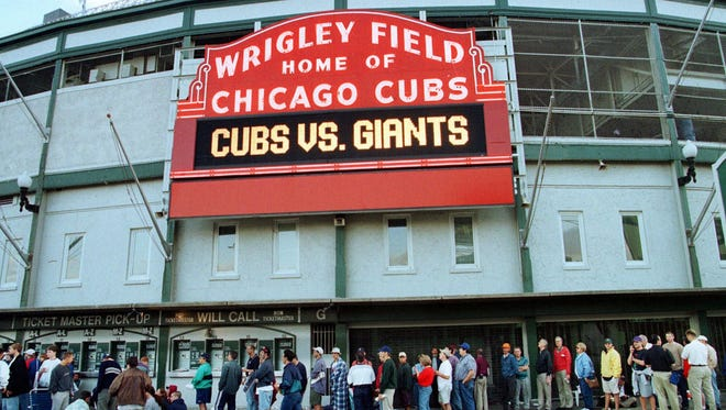 Wrigley Field in 1998.