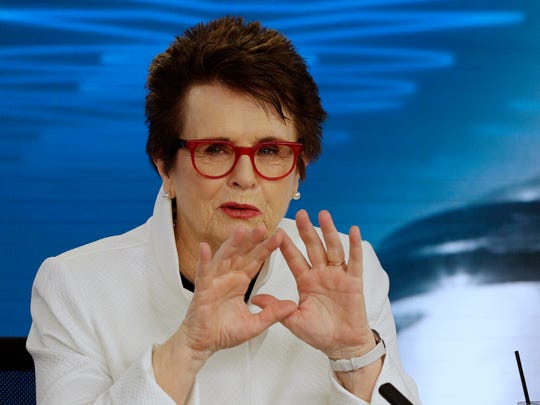 Billie Jean King, who won the U.S. Open women's singles title four times, will be part of the Opening Ceremony at this year's U.S. Open.