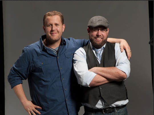 Brothers Jon and Andrew Erwin co-directed the faith-based