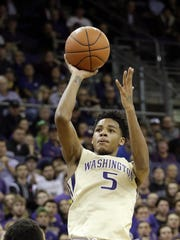 Washington's Dejounte Murray is an open-court wizard and a willing rebounder.