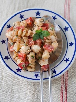 Oil-packed sun-dried tomatoes provide a deeply savory, rich flavor to this macaroni salad recipe.