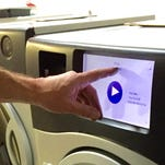 Marathon Laundry combines washer and dryer into one machine.