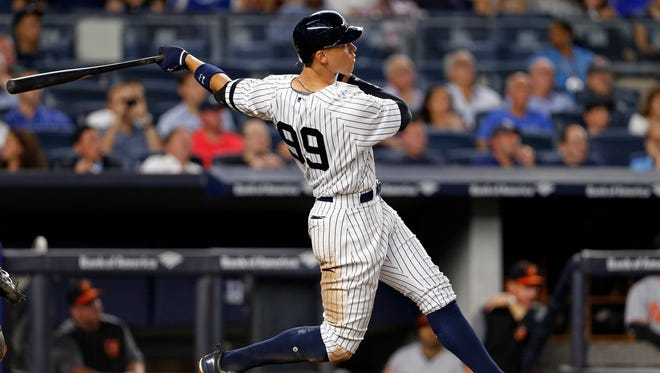 Aaron Judge has hit 44 home runs and will likely be the Yankees' first AL home run champ since Alex Rodriguez in 2007.