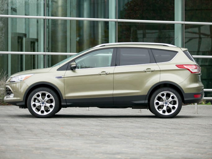 Let's count down the Top 10 selling vehicles of 2013, starting with No. 10:  Ford Escape has a fluid design that helped it get its nose into the coveted group