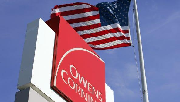 Owens Corning Fiberglass Newark plant