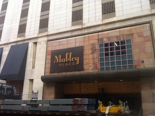 Mabley Place is scheduled to open Oct. 1 and it will feature 775 parking spaces and retail space.