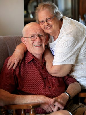 Harold and Phyllis Schroeder never planned to be apart on their 50th wedding anniversary in May, but the pandemic changed their plans dramatically. Harold spent seven weeks in the hospital, including almost three weeks on a ventilator, because of the COVID-19 virus.