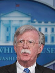 """John Bolton, in three television interviews, tried to make that case that Trump advanced America's national security interests by rejecting a bad agreement while working to persuade Kim to take """"the big deal that really could make a difference for North Korea."""""""