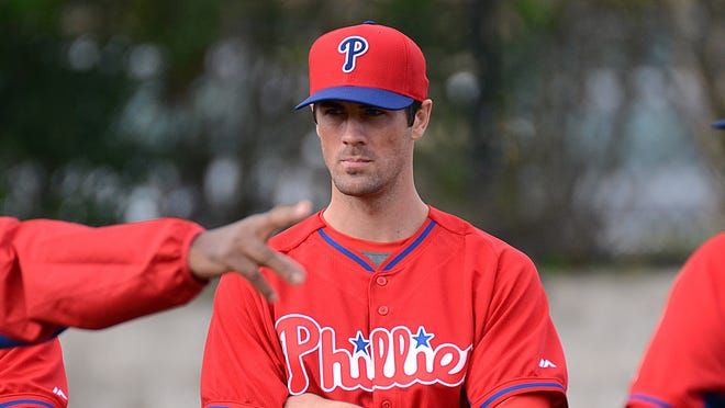 Cole Hamels attempted to throw live batting practice for the first time this spring.