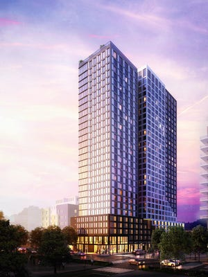 Construction is underway on Waterloo, a 30-story student housing complex at 2400 Seton Ave along West 24th Street. The project being developed by Lincoln Ventures will be the tallest tower in West Campus.