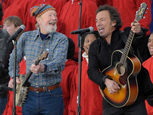 Bob Seeger and Bruce Springsteen