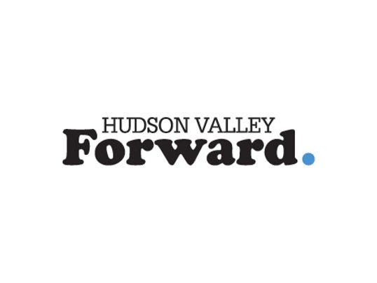 Hudson Valley Forward logo white background