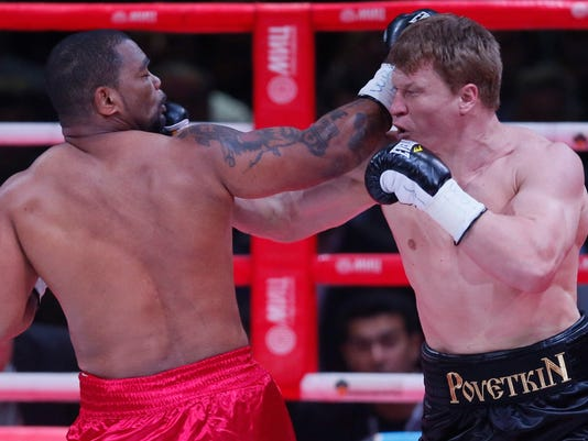 EPA RUSSIA BOXING WBC SPO BOXING RUS