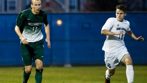 The Williamston and East Lansing soccer teams are both