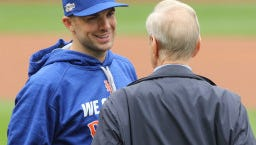 David Wright signed the largest contract in Mets' history.