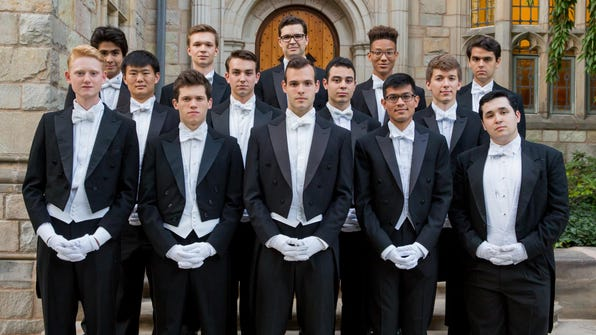 MAIN Yale Whiffenpoofs 2016