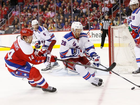 USP NHL: NEW YORK RANGERS AT WASHINGTON CAPITALS S HKN USA DC