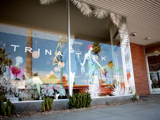 Trina Turk's Palm Springs boutique in the Uptown Design District.