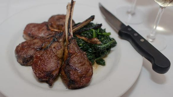 rack of lamb for two