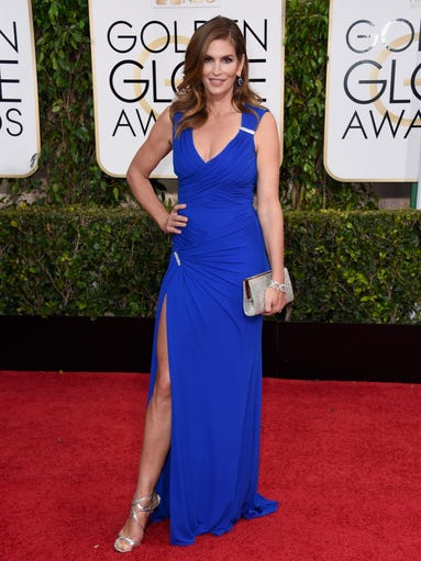 Model Cindy Crawford attends the 72nd Annual Golden