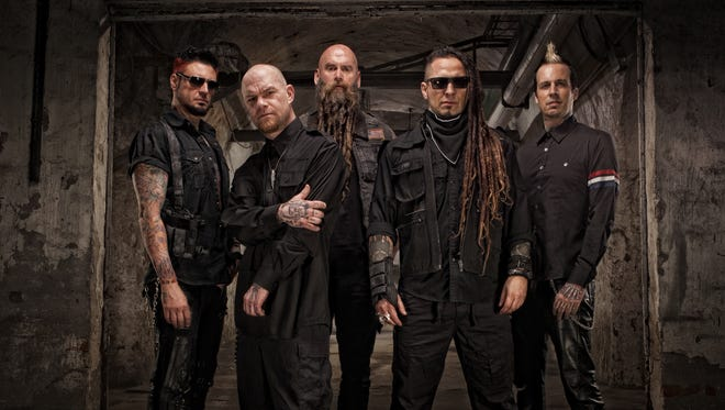 Five Finger Death Punch will headline the Jackson County Fair on Monday, Aug. 8.
