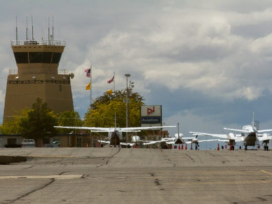 Four Corners Regional Airport is pictured, Thursday,