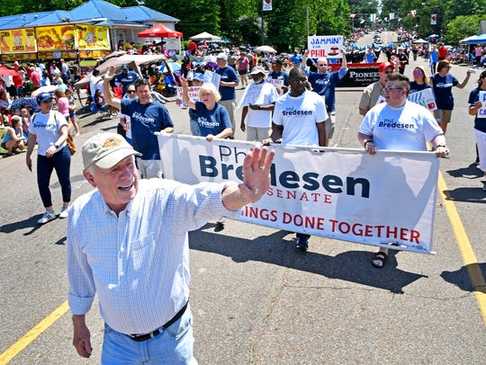 Phil Bredesen joined with other top-tier gubernatorial