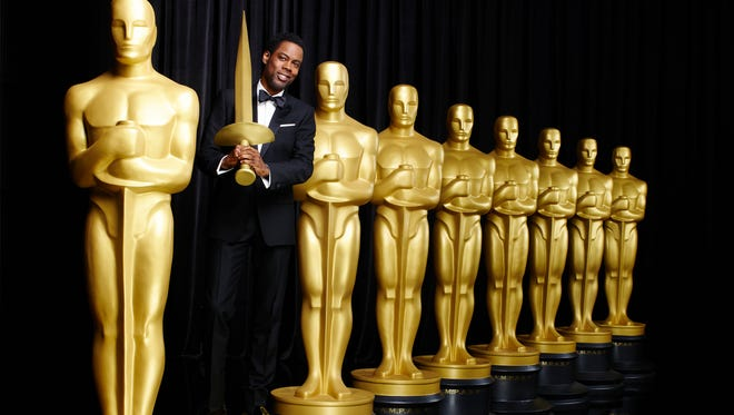 Chris Rock is readying his verbal daggers to use on the Academy come Feb. 28.