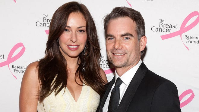 Jeff Gordon and wife Ingrid Vandebosch of Belgium, shown in April, will have different rooting interests in Tuesday's World Cup game between the U.S. and Belgium.