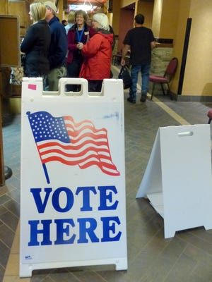 Five percent of voters showed up to the polls for Tuesday's municipal election.