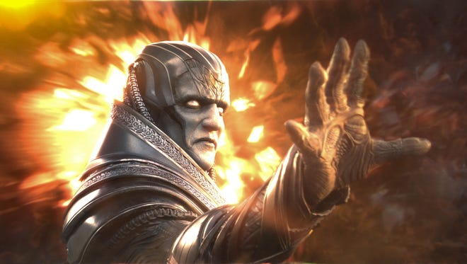"Oscar Isaac plays the villain Apocalypse in ""X-Men: Apocalypse."""